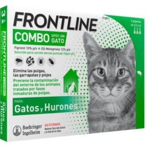 Frontiline Combo Gatos y...
